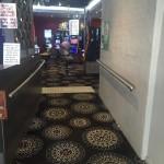 Pub carpet.