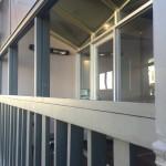The balcony.