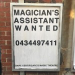 Magic job offer.