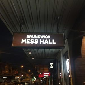The Brunswick Mess Hall